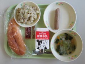 今日の給食・7月17日(火)