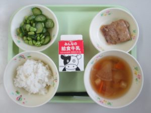 今日の給食・10月11日(金)