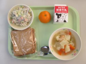 今日の給食・1月10日(金)